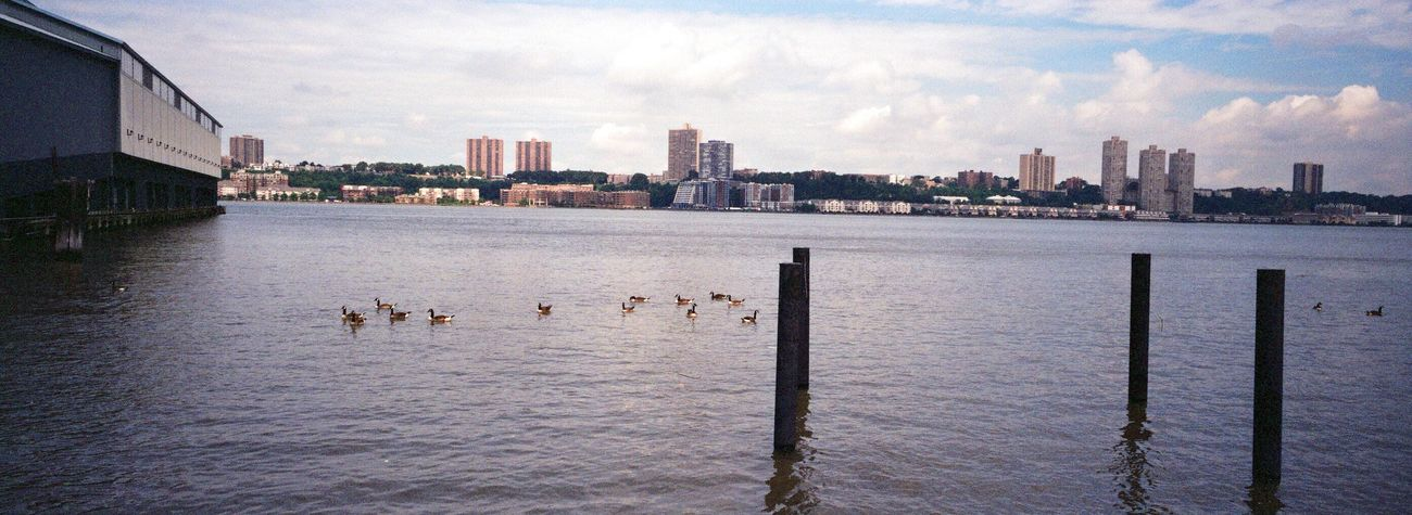 Water Built Structure Waterfront Koduckgirl Hudson River NYC Hasselblad XPan Boathouse