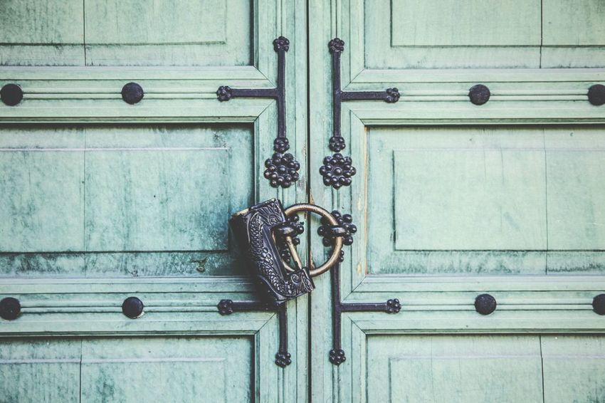 Ancient Architecture Lock Ancient Culture Ancient Palace Cultural Heritage Door Lock Korean Traditional Architecture Changdeokgung Palace Seoul, Korea