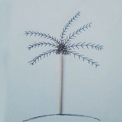 Drawing with everyday objects - 7 Pencil Featuregalaxy Art Thecreative Colourful Illustration Instapic Crazythoughts VisualArt  Doodle Stick Tree Photooftheday Picoftheday Artoftheday ArtWork Like4like Likeforlike L4l Instaart Funny Drawingoftheday Artist