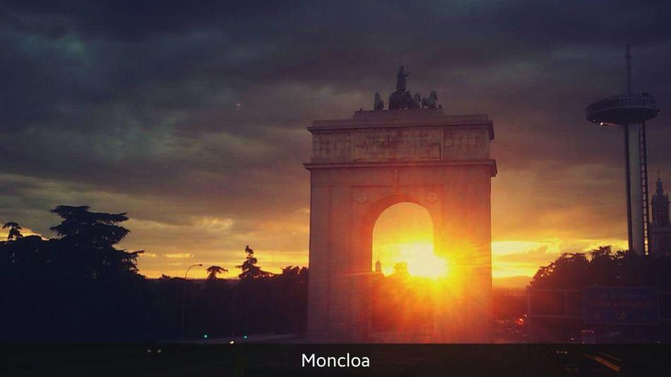 Sunset Enjoying The Sun Enjoying Life Madrid