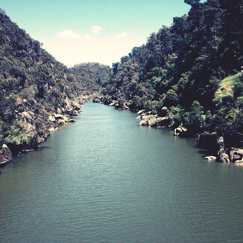 The Gorge Beautiful Surroundings Tasmania Walking Around Australia Colors