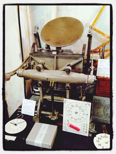 日本の元祖 活版印刷機