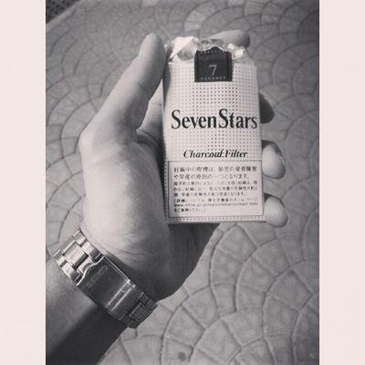 Bring some Sevenstars in italy Cigarettes Japanese  Japan souvenir photooftheday igers instagood instamood tag4likes smoke smokethese instasize