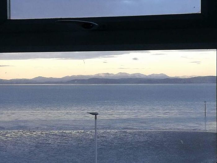 Its Worth Living In A Box in Morecambe With A View Like This !