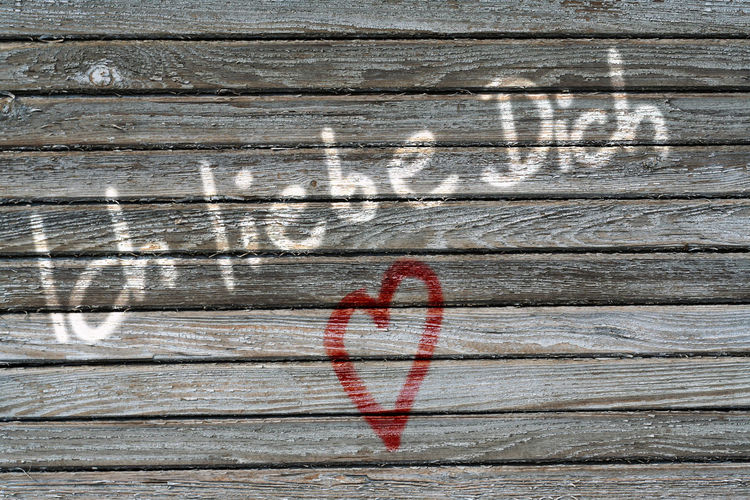 Close-up Detail Dirty Full Frame Geometry Ich Liebe Dich Metal Pattern Plank Protection Rusty Safety Selective Focus Surface Level Symbol Texture Textured  Valentine's Day  Valentinstag Wall Weathered Wood Wood - Material Wooden