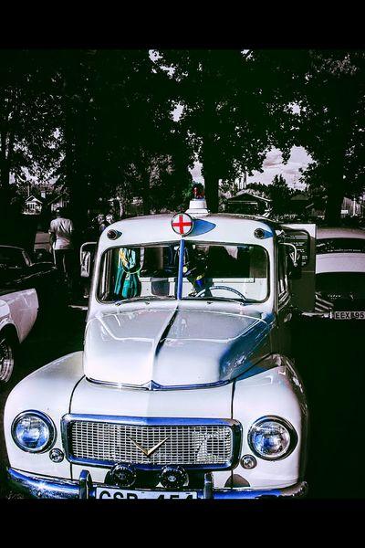 Old Car Volvo Pv Ambulance