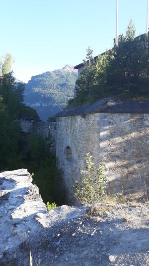Architecture Architecture_collection Architecturephotography Around The Fortress Aussois - Savoie - France Beautiful Summer Day Fort Marie -Christine Outdoors Stone Construction Stone Wall Stones