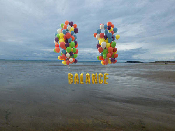 Equilibrio Wellness Balance Balloon Beach Beauty In Nature Cloud - Sky Day Equilibrium Health Healthy Eating Healthy Food Healthy Lifestyle Healthyliving Horizon Over Water Mind  Mindfulness Multi Colored Nature No People Outdoors Sea Sky Water Wellbeing