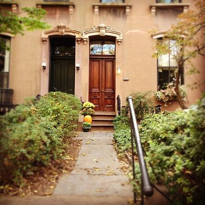 {instagram post} still love it here even when it's a dreary day in the 'hood #nyc ##nyigers #newyork #brooklyn #brownstone #photography NYC Photography Brooklyn Newyork Nyigers Brownstone