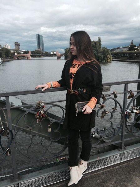 Deutschland Ich Vermisse Herbst Frankfurt Frankfurt Am Main