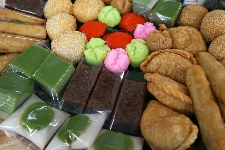 Traditional FOOD from the Indonesian market Food Food And Drink Freshness Close-up Variation Sweet Food Multi Colored Ready-to-eat Snack Indonesian Food Indonesianfood Food Market Food Markets