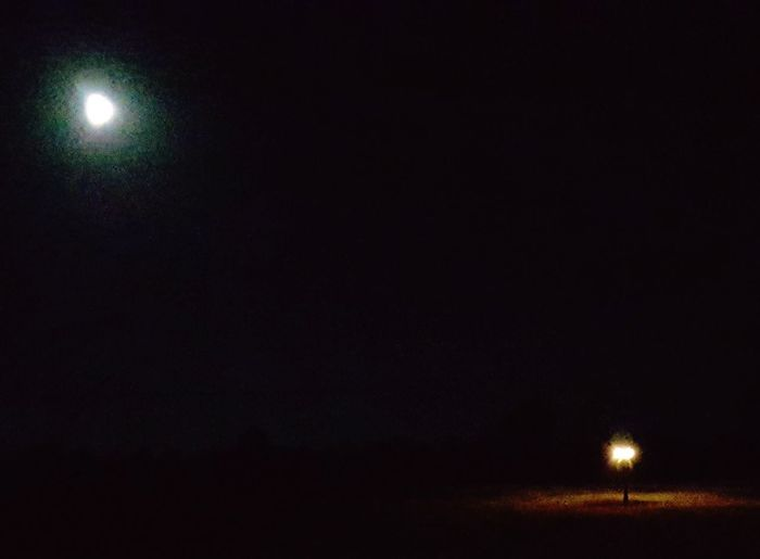 Night Illuminated Outdoors Moon Catch The Moment Sky Atmospheric Mood