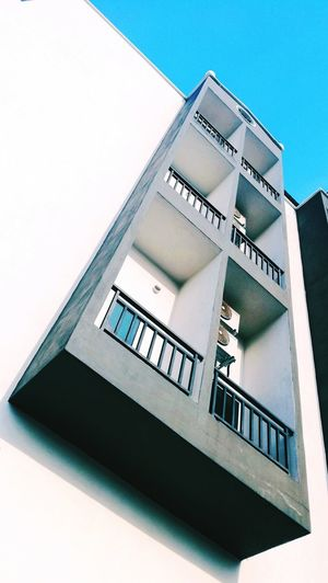 look up Achitecture Building Windows Biulding Structure Blue Sky Photography