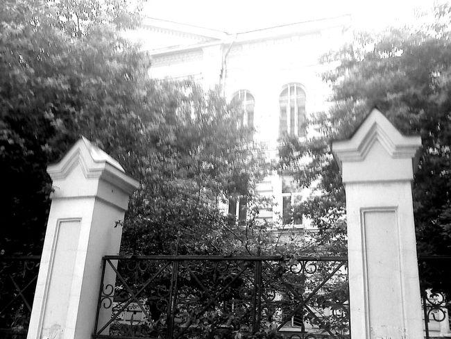 Blackandwhite Old Buildings Irkutsk Light And Shadow