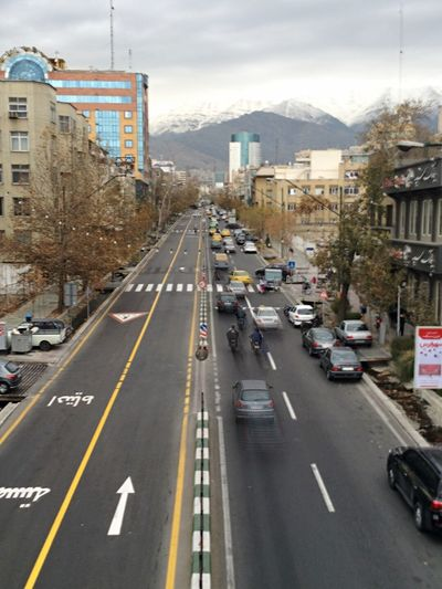 Life with no Sanctions is almost th same Tehran Valiasr Street
