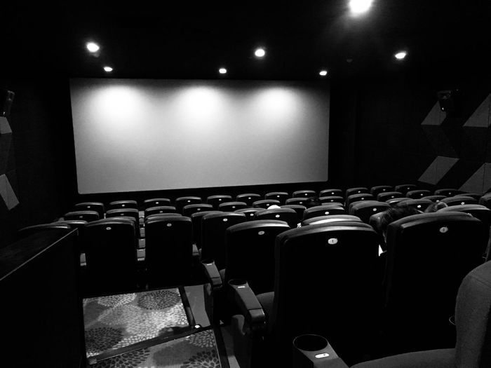 影院 Movie Theater Chair Arts Culture And Entertainment In A Row Indoors  Illuminated Seat