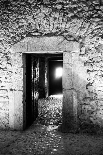 Montefusco Avellino BW_photography Bw Carcere Borbonico Porta Architecture Building Built Structure Entrance Wall - Building Feature Door No People