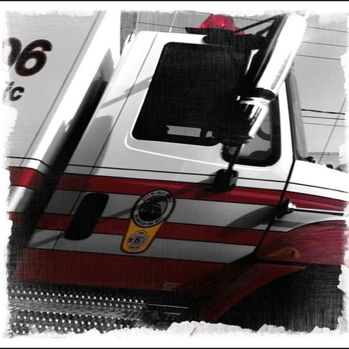 On a call. #ambulance #monochrome #framebend #Spikep #jj Ambulance Monochrome Jj  Spikep Framebend
