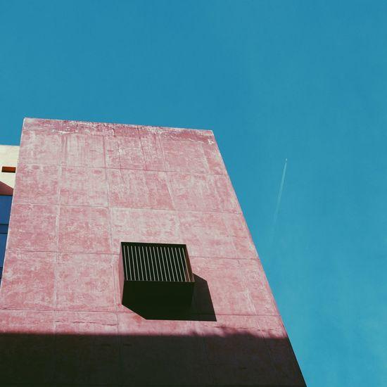Building architecture in bilbao spain