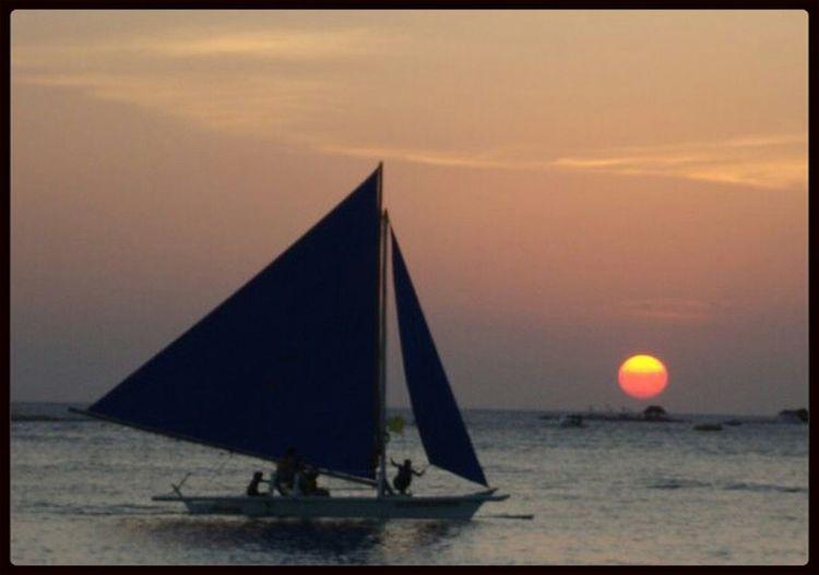 Sunset sailing Sunsetporn Sunrise_sunsets_aroundworld Sunset_collection Philippines