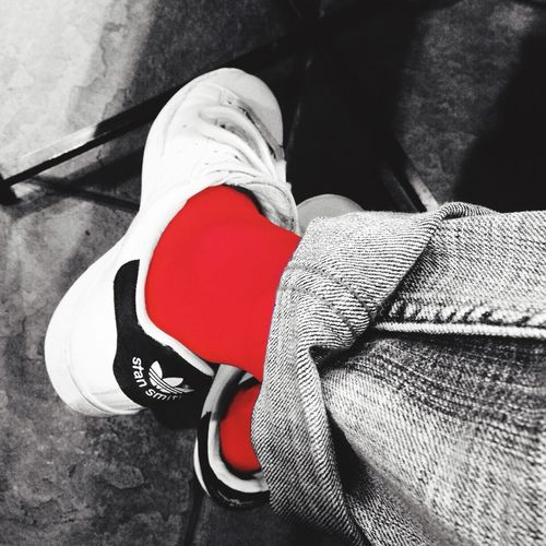 Red Blackandwhite Bw_collection Taking Photos Socks