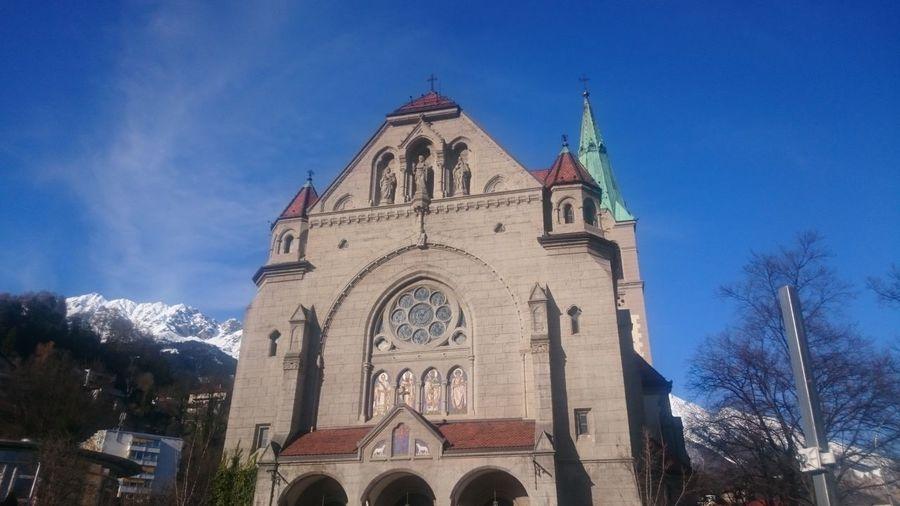 Religion Building Exterior Architecture Spirituality Church Innsbruck Austria Travel Destinations Old History Architecture