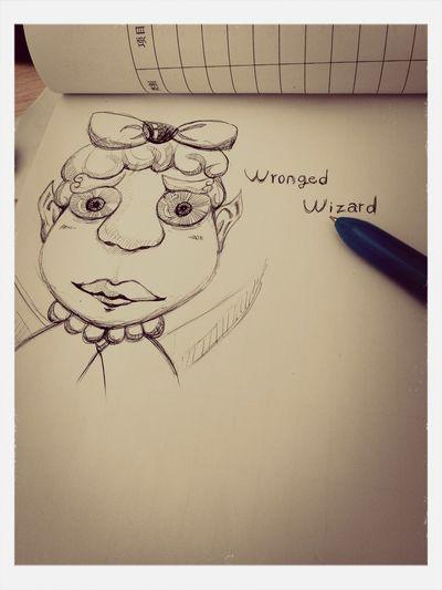 Wronged Wizard 爱画画 First Eyeem Photo