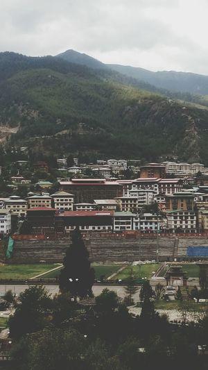 Travel Bhutan Urban Suburbun Heaven Town Colours