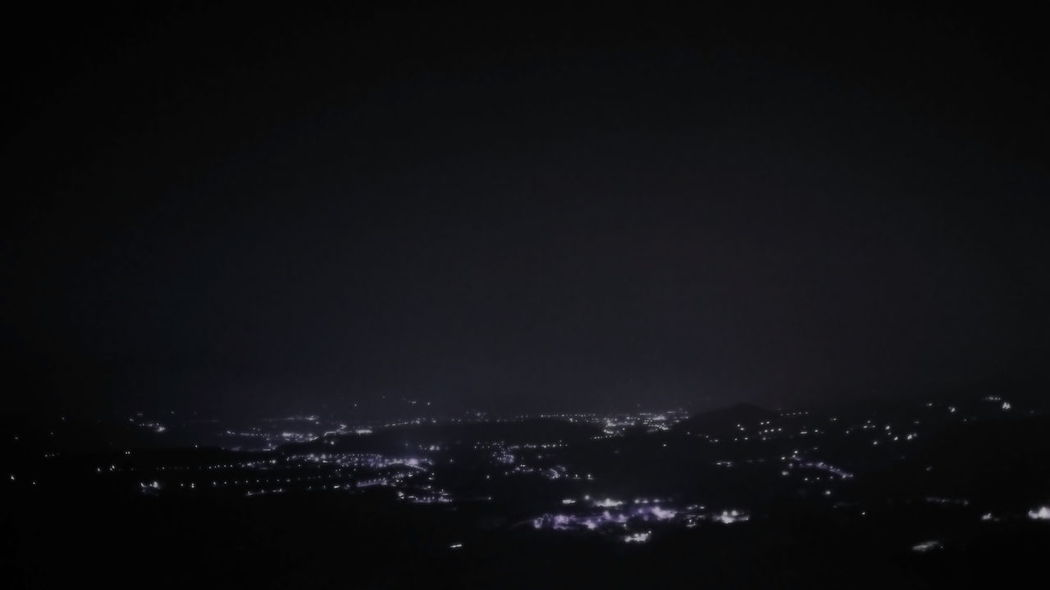 This panorama is the Telesina valley, part of the Sannio in the province of Benevento in Campania Italy Beauty In Nature Campania Campaniafelix Cityscape Dark Illuminated Nature Night No People Outdoors Scenics Sky Tranquil Scene Tranquility Valley Telesina View From Guardia Sanframondi