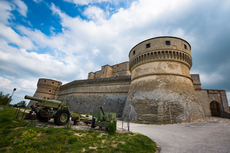 Ancient Ancient Civilization Architecture Building Exterior Built Structure Cloud - Sky Day Dome Fort Fortress History Italy Memorial Military No People Old Old Ruin Outdoors Rimini San Leo Sky The Past Travel Destinations War Weapon
