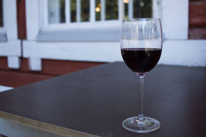 Red Wine Close-up Day Drink Focus On Foreground Food And Drink Indoors  No People Table Wine Wineglass