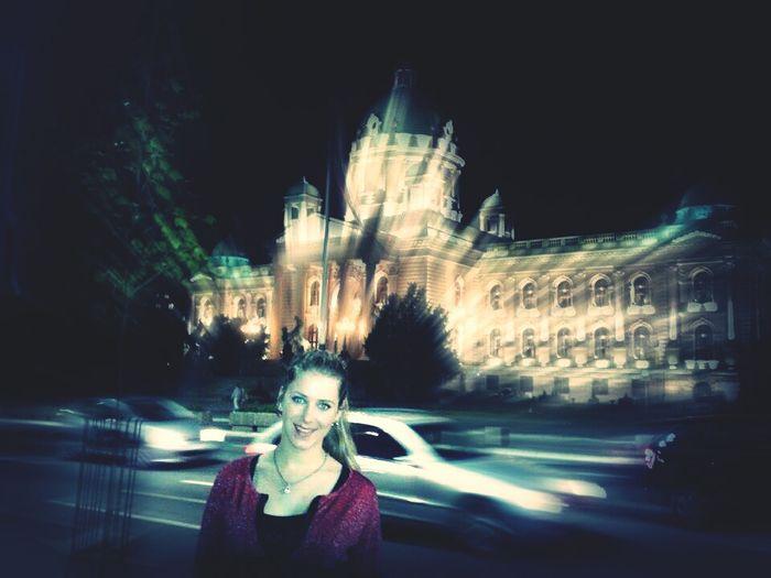 Belgrade Photography City Lights Hello World