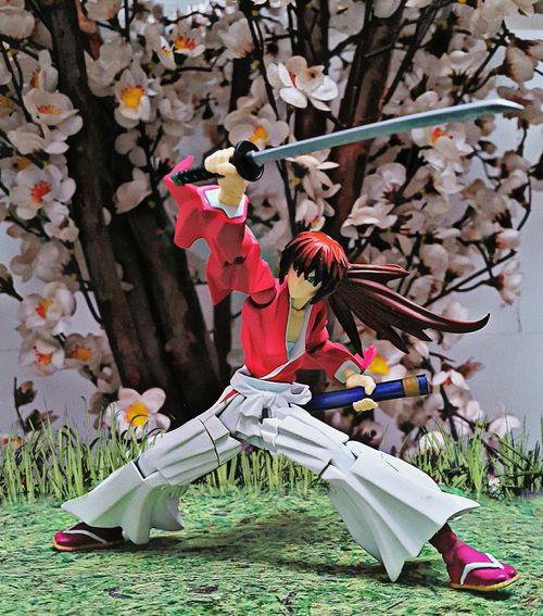 Samurai Spirit Anime Japan Batosai KenshinHimura Martial Arts Fighting Actionfigures Toy Photography Toys Toygallery Toygroup_alliance