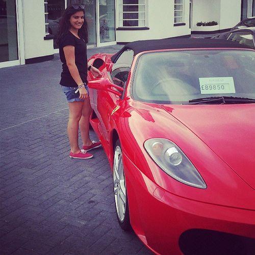 Ferrari Red Egham