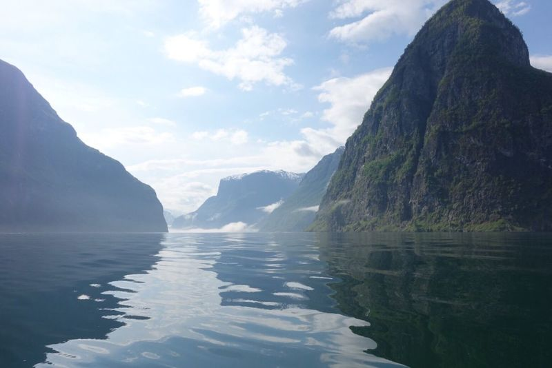 Fjord in Norway Water Scenics Beauty In Nature Fjord Norway Flåm Amazing
