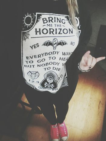 my crewneck though Bring Me The Horizon Band Merch Emo Hospital For Souls