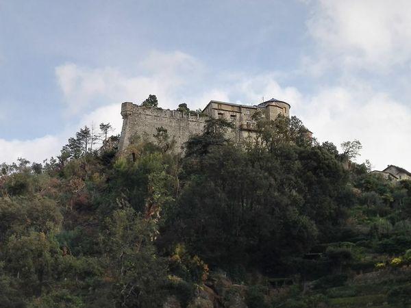 History Castle Portofino Italy