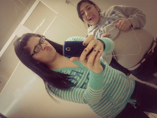 me and yvette<3