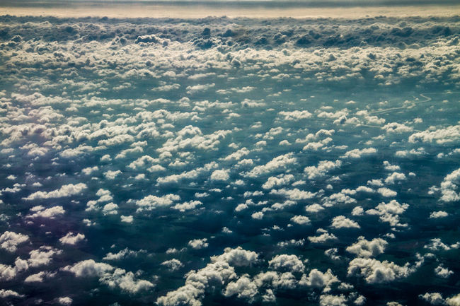Aerial View Beauty In Nature Cloud - Sky Cloudscape Day Landscape Nature No People Outdoors Scenics Sky Tranquility World From Above