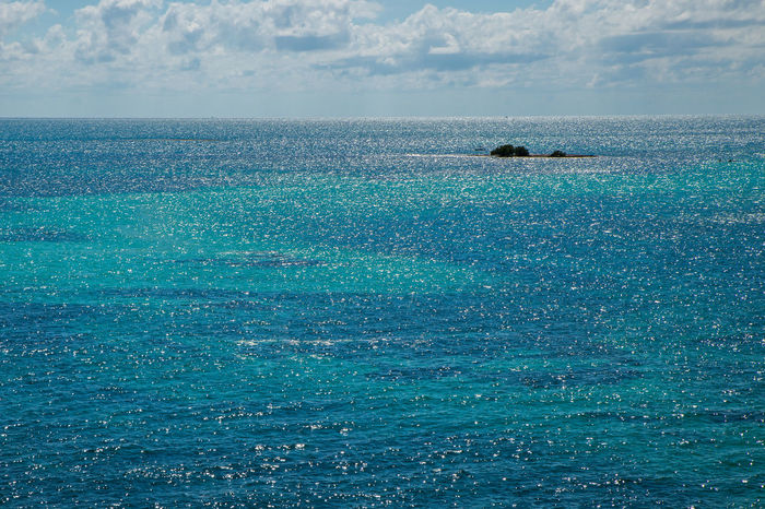 Beauty In Nature Blue Carribean Clouds Coral Reef Day Horizon Over Water Island Nature No People Ocean Outdoors Reef Scenics Sea Sky Water
