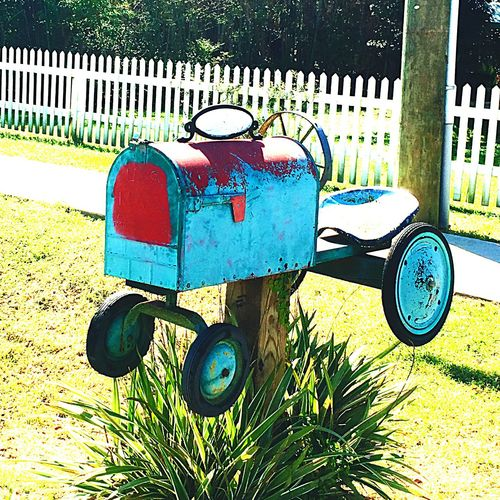 Tractor Mail Box😘 Riding Around In The Country 😊 Beautiful Sunny Morning Tractor Lover😍 Showcase April