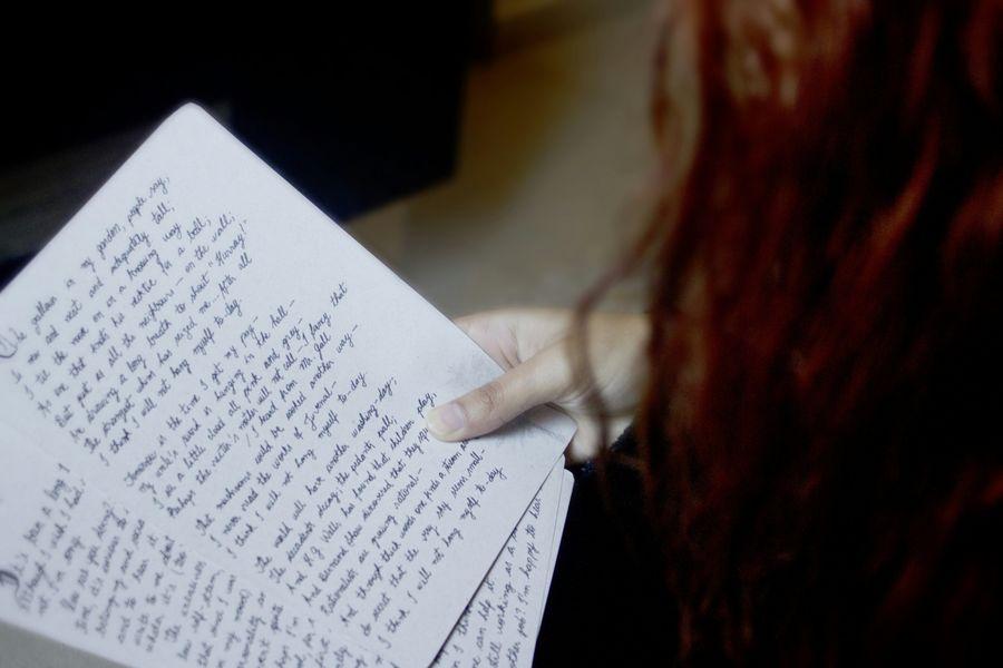 Handwriting  Getting Inspired Storytelling Memories Learn & Shoot: Simplicity