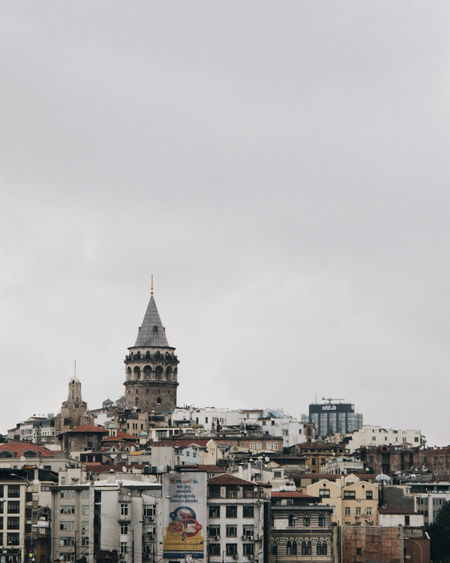 Historical Building Historical Place Galata Tower Istanbul Beyoğlu City Cityscape Business Finance And Industry History Architecture Sky Building Exterior Built Structure Travel The Architect - 2018 EyeEm Awards #urbanana: The Urban Playground