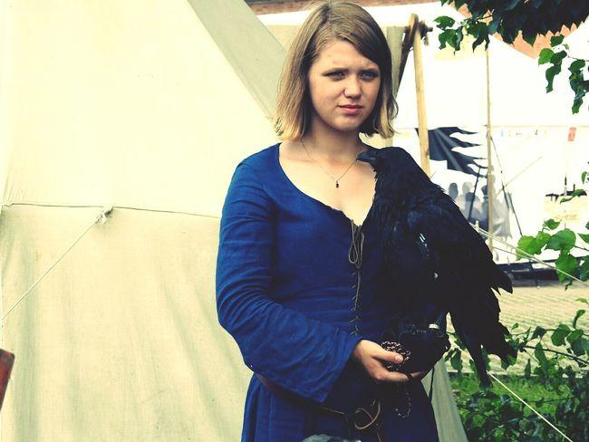Dramatic Angles Raven Looking At Camera Day Petropavlovskayafortress Portrait Photography Sankt-Petersburg Russia