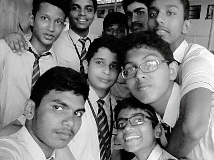 With my dear besties....... Young Men People Day Headshot School Uniform Science Fair ^.^ Fun
