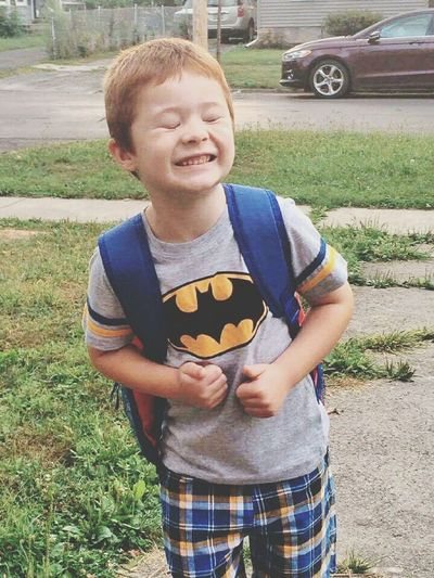 Mygreatnephew! Love My Family ❤ SillyBoy Natural Redhead Schooltime Starting School Check This Out EyeEm Best Shots