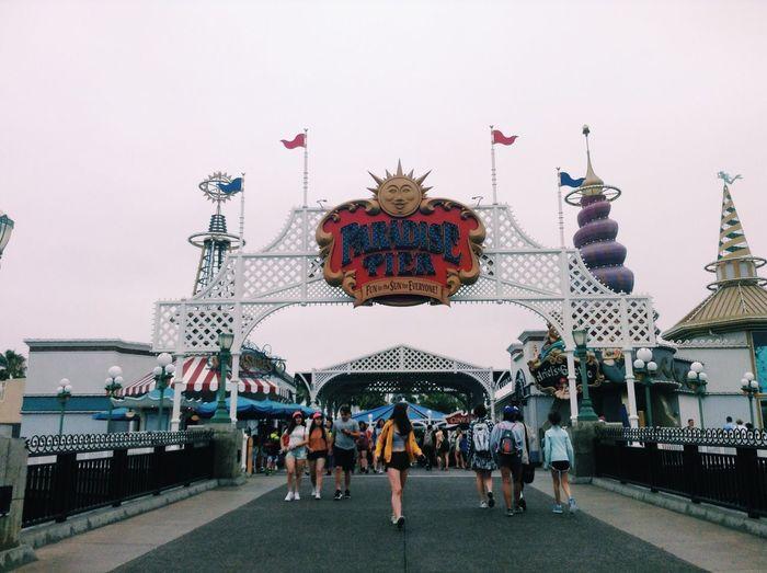 Disneyland California California Adventure Paradise Pier
