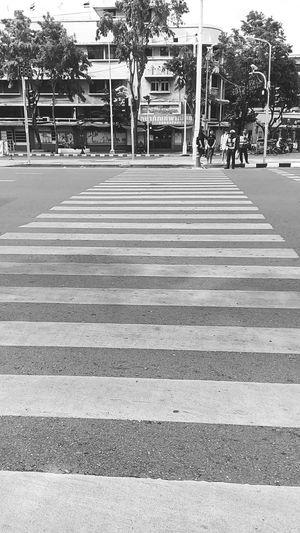 Crosswalk Crosswalk Sign Crosswalk In The Town Road Sign In The Town In Bangkok In Bangkok ,Thailand Perspectives Perspective Photography Black And White Black And White Photography