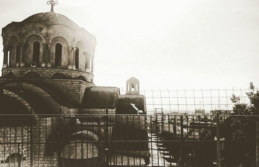 One beautiful day Sunset Thessaloniki Sun ☀ Church Churches Church Buildings