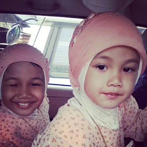 Beraya pkai bju Flower Girls Amalina Datul wajiah